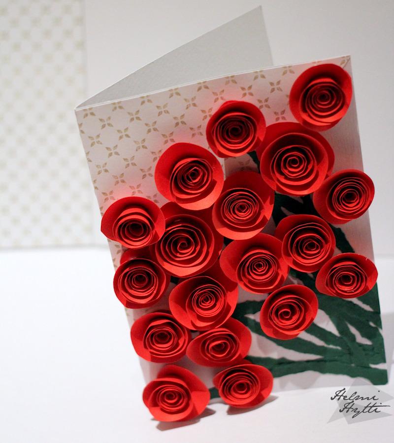 ruusukimppu-kortti-äitienpäiväkortti